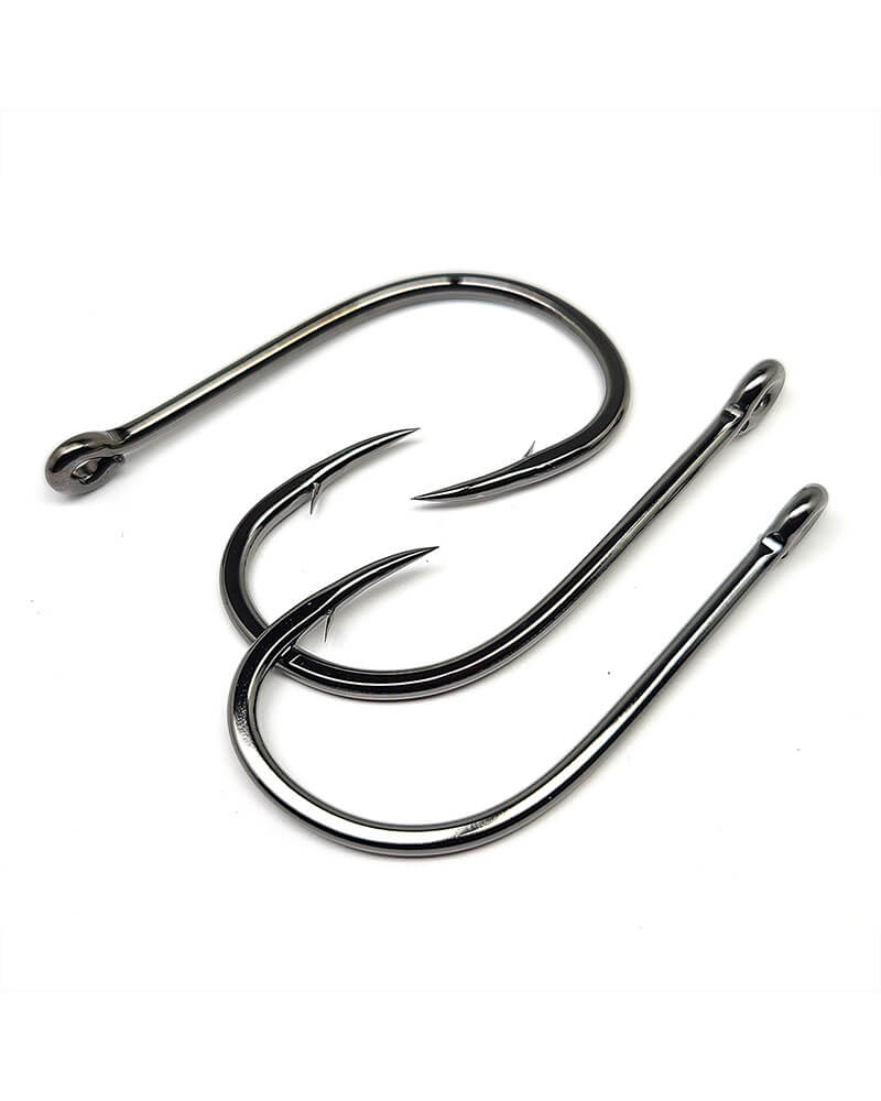 Octopus Hooks, Straight Eye, 4x Strong, (Inline-point) - Group