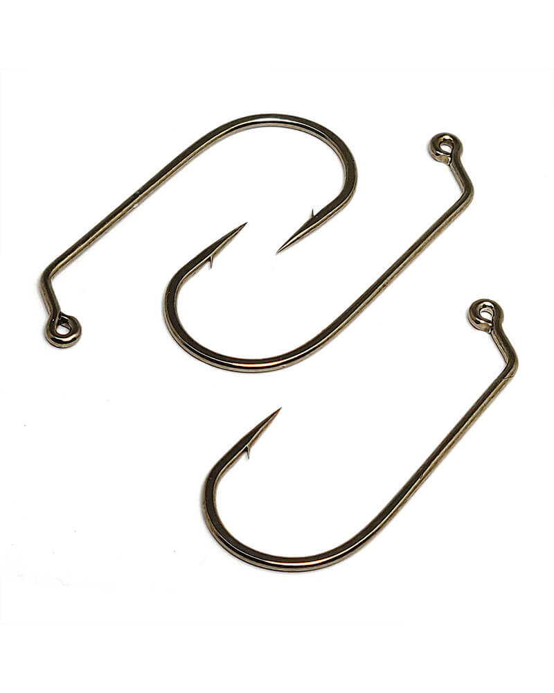 Jig Hook 60 Degree Round Bend - Group