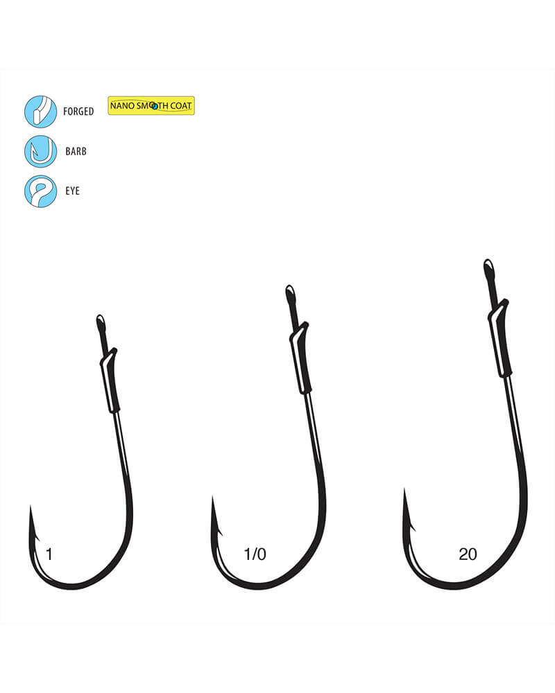 G-Finesse Light Worm with Tin Keeper - Line art