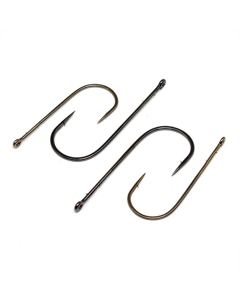 Worm Hooks, Round Bend - Group