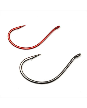 Split Shot/Drop Shot Hooks - Red and Black