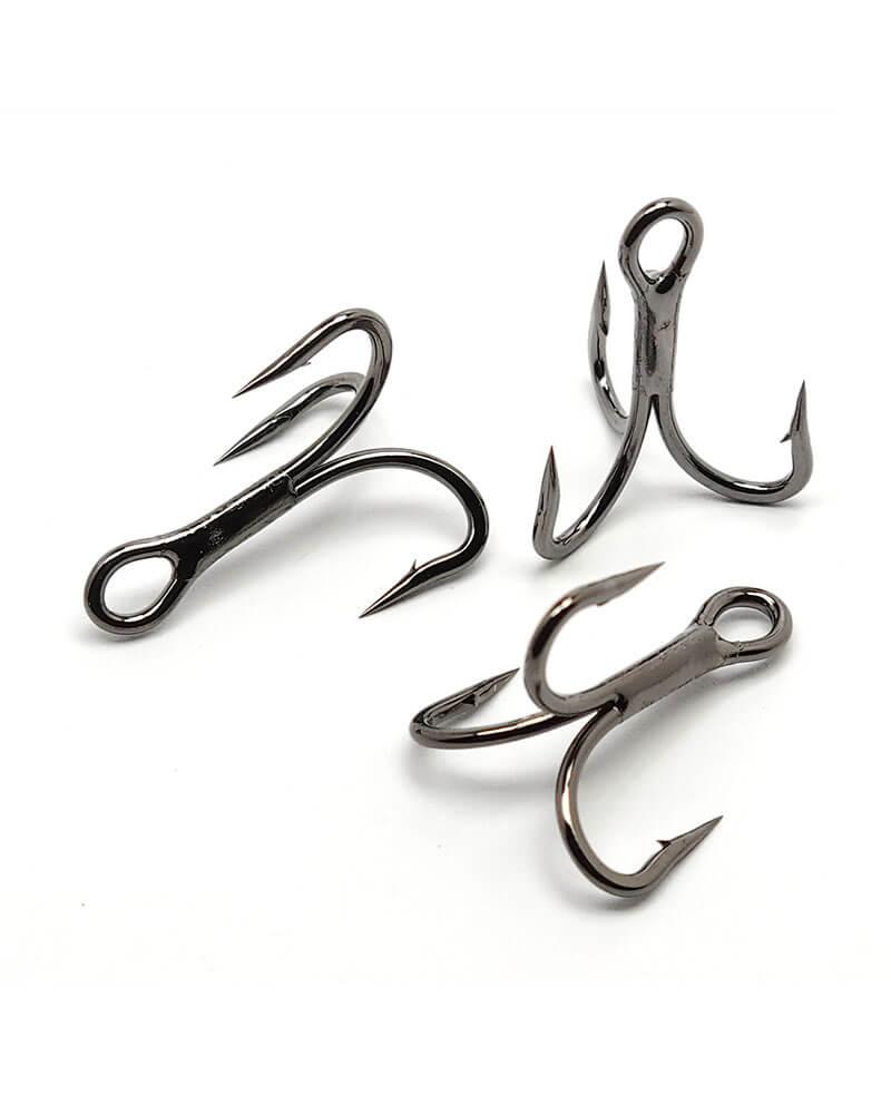 Treble Hooks, 4x Strong