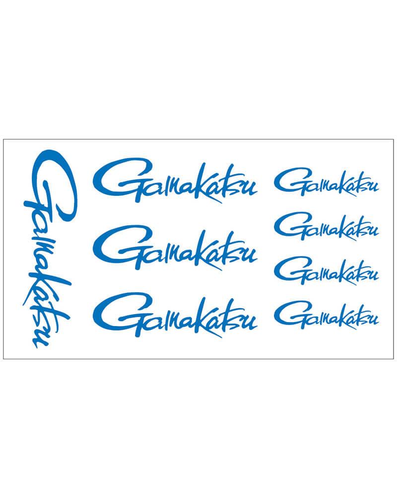 Gamakatsu decal logo sheet - blue