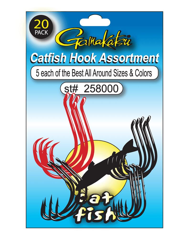 Gamakatsu Walleye Hooks Pack of 20