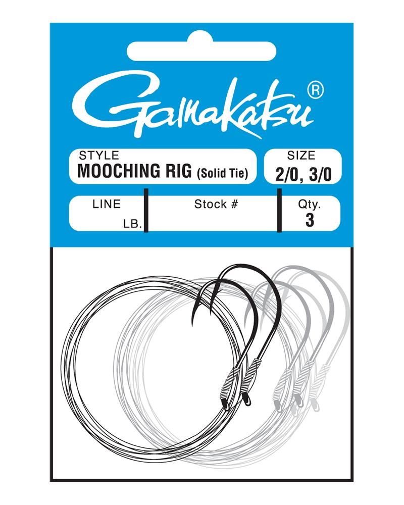 Mooching Rig (Solid Tie) - Gamakatsu USA Fishing Hooks