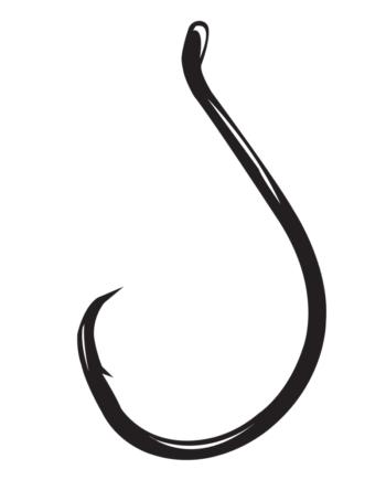gamakatsu octopus circle hook size 4  10 per pack # 208408 hooks