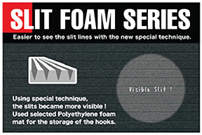 Slit Foam Series graphic