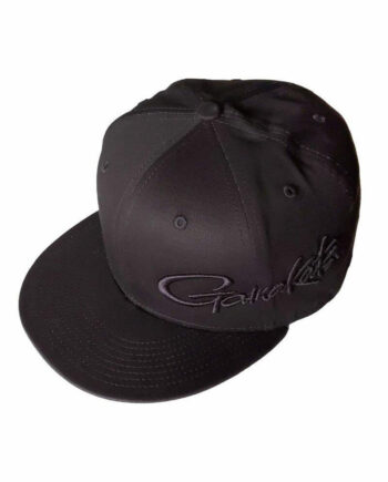 Triple Black Flat Bill Hat
