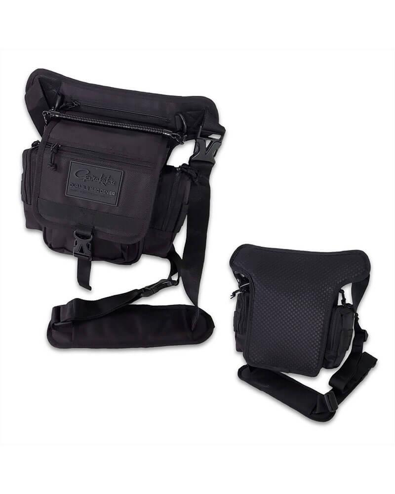 Shoulder Bag Tackle Storage - Front and Back