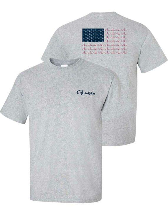 Gamakatsu Flag T-Shirt Front/Back