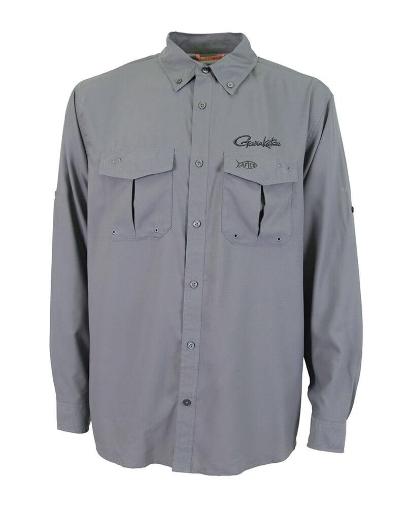 Performance Shirt Long Sleeve - Grey