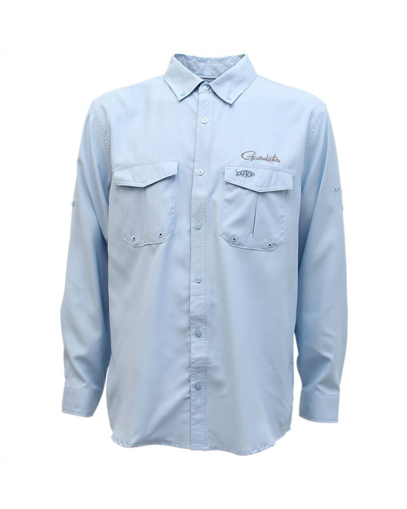 Performance Shirt Long Sleeve - Blue